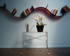 Zoom mobilier la bookworm une étagère qui se plie aux envies