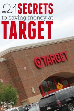 21 Secrets to Saving Money at Target! DIY Ideas for getting the Best Deals!