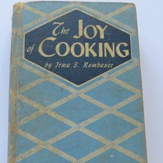 The Joy of Cooking Cookbook by Irma S Rombauer by shabbyshopgirls, $55.00