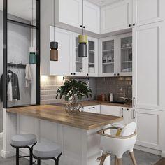 Interior Design Kitchen, New Homes, Room, Furniture, Home Decor, Sims, Decoration, Kitchen, Houses