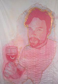 #vino #arte #creatividad y un trabajo de exploración verdaderamente bueno!  © Amelia Fais Harnas