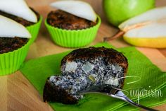 Mohn-Birne-Muffins