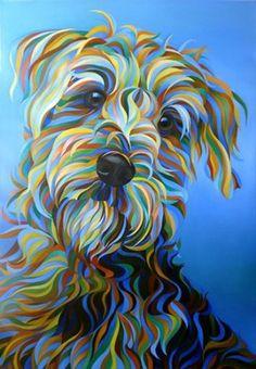 dog paintings acrylic - dog paintings + dog paintings easy + dog paintings acrylic + dog paintings on canvas + dog paintings watercolor + dog paintings diy + dog paintings easy canvas + dog paintings easy acrylic Animal Drawings, Art Drawings, Schnauzer Art, Miniature Schnauzer Puppies, Dog Paintings, Art Plastique, Dog Art, Painting Inspiration, Painting & Drawing
