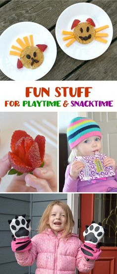 Fun snack ideas, pla