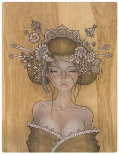 With Maidens of Mystery - The artwork of Audrey Kawasaki | culturazzi.org