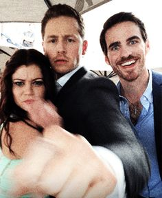 Colin, Emilie and Josh play at Social PhotoBooth at 2014 SDCC