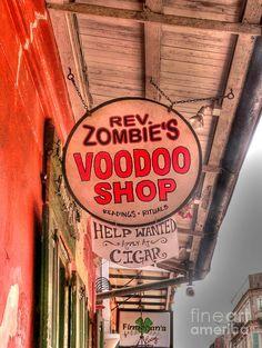 Rev. Zombie's Voodoo Shop