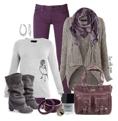 """""""Purple Jeans"""" by livewithgrace ❤ liked on Polyvore featuring Raxevsky, Miss Selfridge, Friendly Hunting, Burberry, Helene Jewelry, Butter London, women's clothing, women's fashion, women and female"""