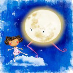 Nella Gatica. A bailar con la Luna.