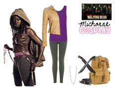 """Michonne Cosplay"" by lunalynch13 on Polyvore featuring Bed