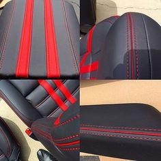 FB TheHogRing.com  · @AleaLeather going hard for #FrenchSeamFriday! Let's see what you got! #autoupholstery #autotrim #carinterior #upholstery #thehogring