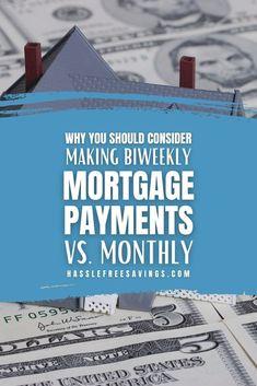 Have you considered the benefits of making biweekly payments instead? If you're a homeowner, chances are you're making monthly payments towards your mortgage. This would be equal to 12 payments a year, and no extra fees if they are all made in full and on time. A simple, predictable, easy to budget plan. Why change anything? #paymenttips #mortgageguide #savingmoney #howto #savingtips #payment #hasslefreesavings