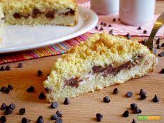 Sbriciolata con Ricotta e Gianduia  #ricette #food #recipes