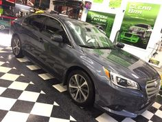The Spokane Shop enjoyed helping this customer with their window tinting decision! We decided that our Premium Package would work best for them, and it turned out very nice!! Great job, Kon :-)