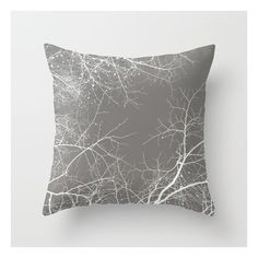 Branches Impressions I Throw Pillow (465 UAH) ❤ liked on Polyvore featuring home, home decor, throw pillows and branch home decor