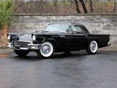 1957 black thunderbird | 1957 FORD THUNDERBIRD Lot 1057 | Barrett-Jackson Auction Company