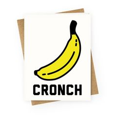 109 best greeting cards images on pinterest cronch banana meme greeting card lookhuman m4hsunfo