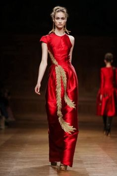 Oscar Carvallo Fall Winter Couture 2013 Paris