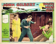 Twelve Miles Out (1927 lobby card) John Gilbert, Joan Crawford