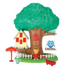 The Official PBS KIDS Shop | Daniel Tiger's Neighborhood 3-in-1 Transformation Treehouse Playset