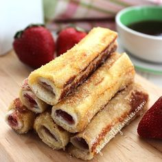 French Toast Roll Ups Love it? Pin it to SAVE it! Follow Spend With Pennies on Pinterest for more great recipes! These yummy little french toast roll ups have the flavor of french toast but are super easy to eat and fun for little hands! These...