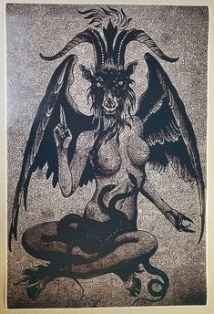 Baphomet Goat Satanic Worship Poster Full Size x Evil Art Devil hell Baphomet, Satanic Tattoos, Satanic Art, Dark Fantasy Art, Dark Art, Backpiece Tattoo, Devil Halloween, Devil Tattoo, Evil Art