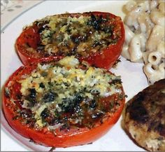 Baked Tomatoes Recipe Photo
