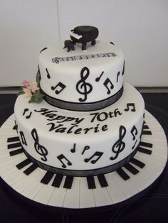 musical cake ideas | Music cake