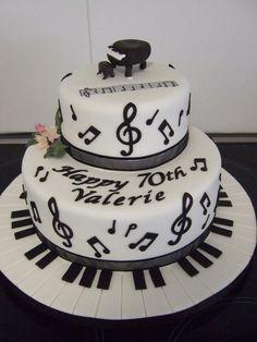 musical cake ideas | Music cake