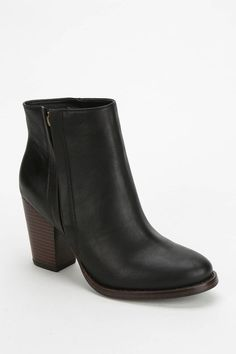 Silence & Noise Silence + Noise Half-Stacked Heeled Ankle Boot on shopstyle.com