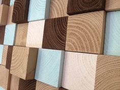 Modern Wall Art  Reclaimed Wood Wall Sculpture  от WallWooden