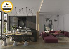 Homelab eetkamer + living renovatie pand te Sint-Truiden
