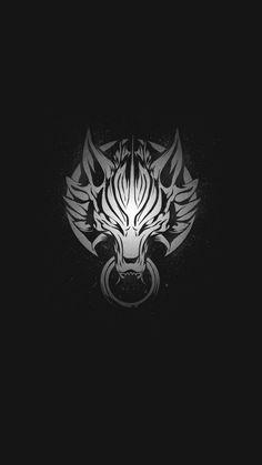 New wallpaper backgrounds dark wolf ideas Final Fantasy Logo, Fantasy Art, Lion Wallpaper, Wallpaper Backgrounds, Trendy Wallpaper, Wolf Tattoos, Body Art Tattoos, Poses References, Concept Art