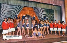 Butlin's Clacton theatre stage Butlins Holidays, British Holidays, Holiday Party Themes, Park Playground, Camps, Vintage Postcards, Childhood Memories, Seaside, Nostalgia