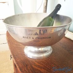 Huge silver #Moët & Chandon Champagne Bowl from #Goodwill  $24.99  Thanks Rare by Goodwill @ocgoodwill