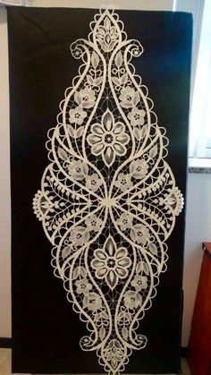 Hand Embroidery Embroidery Designs Romanian Lace Lacemaking Linens And Lace Stencil Patterns Irish Lace Needle Lace Drawn Thread Irish Crochet, Hand Crochet, Crochet Lace, Crochet Motif, Crochet Flowers, Crochet Patterns, Lace Embroidery, Embroidery Designs, Lace Drawing