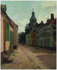 E. Viérin - View on Nieuwpoort (1899)