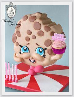Happy shopkins cake Kooky cookie