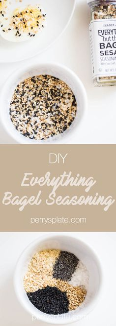 DIY Trader Joe's Everything Bagel Seasoning | Trader Joe's hacks | paleo recipes | gluten-free recipes | Whole30 recipes | perrysplate.com