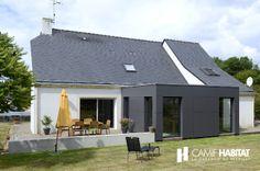 Building Extension, Glass Extension, Extension Designs, Extension Veranda, Cottage Extension, Bungalow Extensions, House Extensions, Veranda Design, Small Bungalow