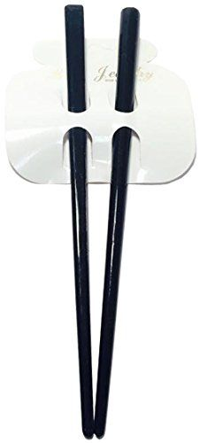 7 Black Hair Chopsticks -- Want additional info? Click on the image. (This is an affiliate link) Chopstick Hair, Chopsticks, Hair Pins, Black Hair, Amazon, Tableware, Link, Image, Hair Black Hair