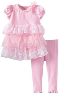 Cool! :)) Pin This & Follow Us! zBabyBaby.com is your Baby Gallery ;) CLICK IMAGE TWICE for Pricing and Info :) SEE A LARGER SELECTION of baby girl dresses at http://zbabybaby.com/category/baby-categories/baby-clothing-and-accessories/baby-girl-dresses/ - #baby #infant #nursery #babyshower #babystuff #babygear #toddler #toddlerstuff #babygirldresses #babyclothes  -  Baby Grand Signature Baby-Girls Newborn 2 Piece Ruffle Dress Set, Pink, 6-9 Months « zBabyBaby.com