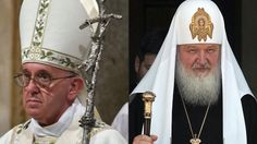 Pope meets Patriarch - for the first time in 1,000 years. For the first time ever to be Pope Francis later in the day to meet with the Russian Orthodox Church.