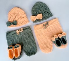TwinProp set by MyHighKnit on Etsy