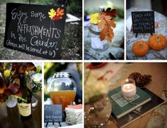 """Homemade, Vintage-inspired Decorations - Runners & Banner!   Recycled Bride i like the """"tip"""" jar"""