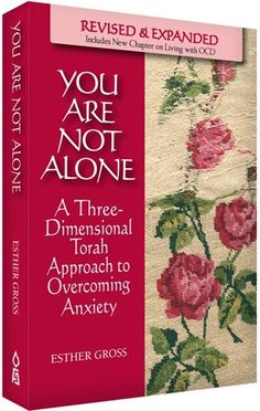 The author, who suffered from anxiety disorder herself, shares her own insight, as well as professional advice and--most importantly--the Torah's perspective on coping with anxiety and other stress disorders.