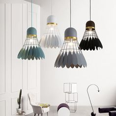 1 Light Modern / Contemporary Pendant Light Ceiling Lamp for Living Room, Study, Kitchen, Bedroom, Dining Room Contemporary Pendant Lights, Modern Lighting, Modern Contemporary, Ceiling Lamp, Bedroom Ceiling, Wall Lamps, Ceiling Lights, Deco Originale, Transitional Decor