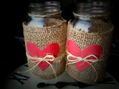 These Mason jar gifts and crafts have stolen our hearts. February 14 will be here before you know it, so start crafting now! These cute ideas for Valentine's Day crafts and DIY gifts will set your heart on fire. Plus, see more cute Valentine's Day crafts. Pot Mason Diy, Mason Jars, Mason Jar Crafts, Valentines Day Decorations, Valentine Day Crafts, Valentine Ideas, Valentines Bricolage, Wine Bottle Crafts, Diy Projects To Try