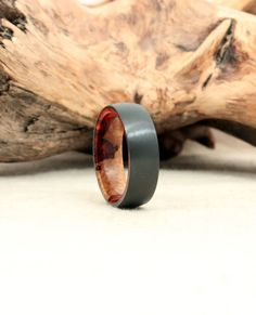 This ring is part of my somewhat-pretentiously-named throwback series, which seeks to emulate old all-wood rings I used to produce. Here is the