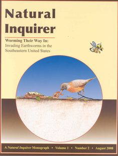 Learn about nonnative earthworms in the southeastern U.S. http://www.naturalinquirer.org/Worming-Their-Way-In-(Monograph)-i-17.html